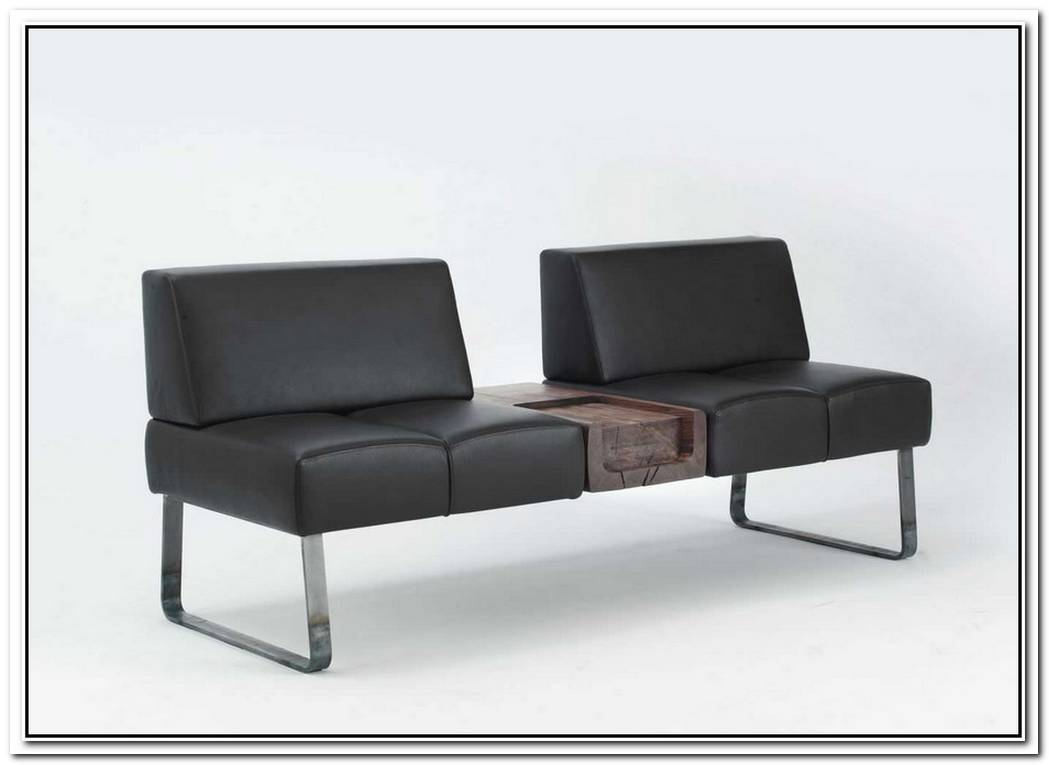 The Patmos Leather Bench By Terry Dwan