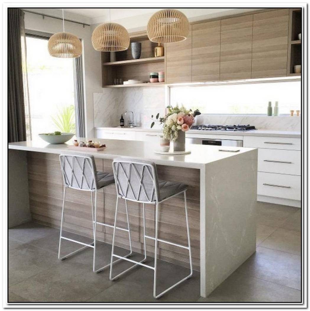 The Right Pendant Lights Are Essential To A Minimalist Kitchen