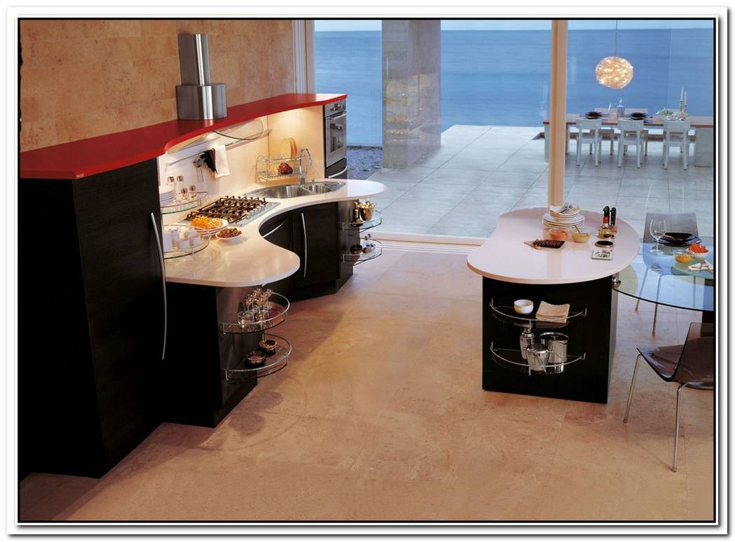The Skyline Kitchen Optimizes Functionality In A Simple And Stylish Manner