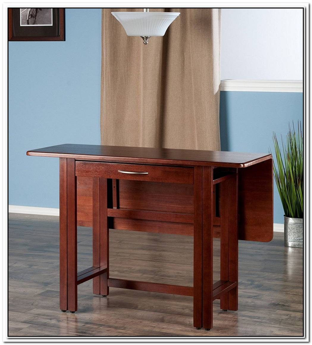 The Space Saving Drop Leaf Table Designs Our Homes Dream Of