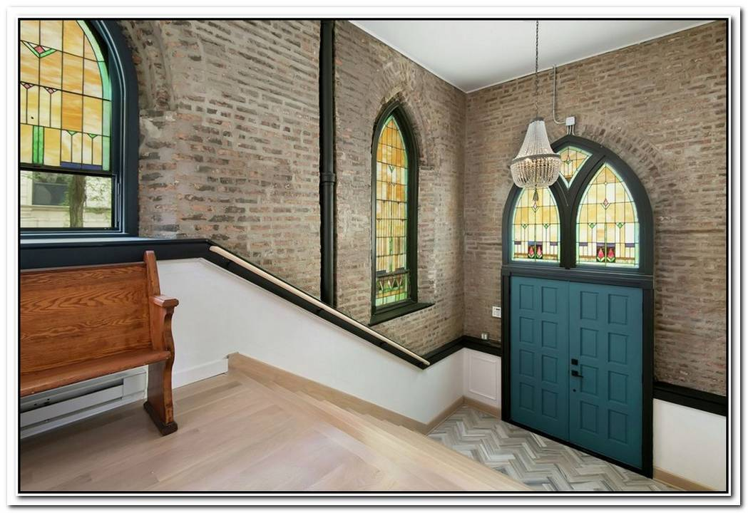 The Ultimate Unconventional Home Church Converted Into A Family Mansion