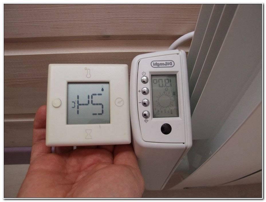 Thermostat Radiateur Electrique Delonghi