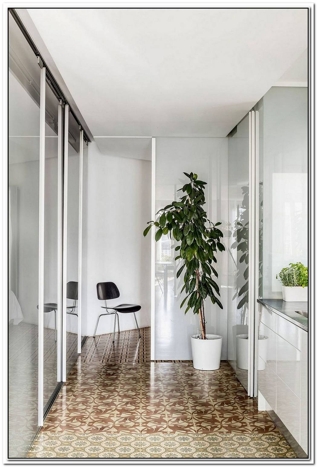 This 64Sqm Apartment Reimagines Space Using Partitions And Sliding Doors