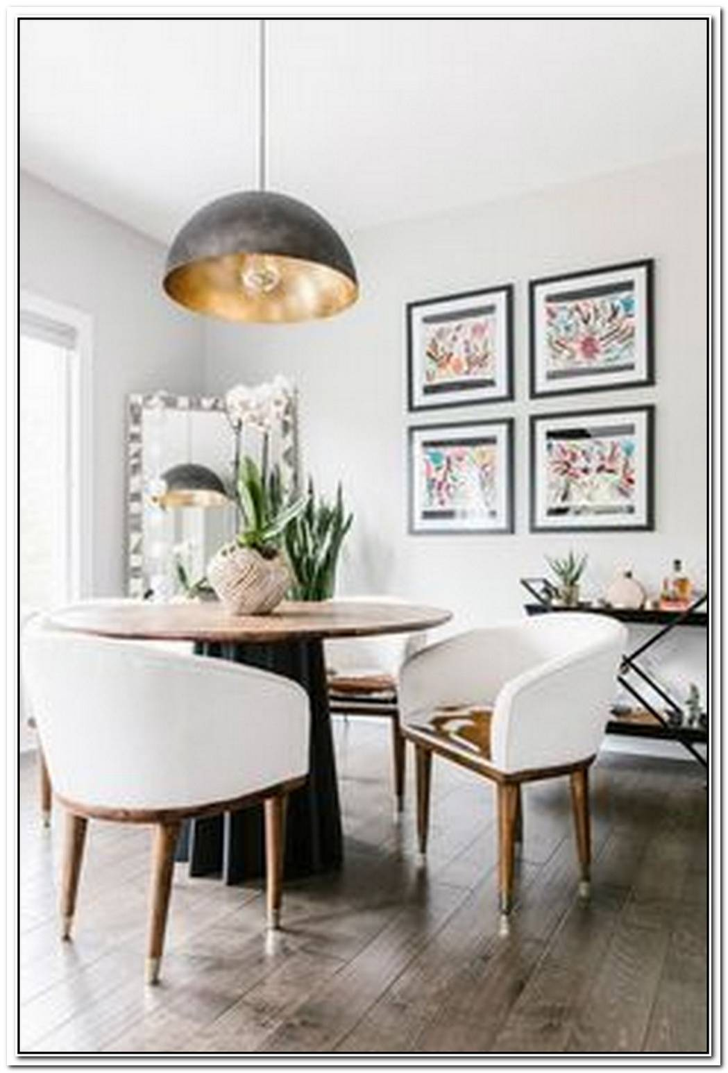 This Breezy And Eclectic Dining Room Has Good Mood All Over It