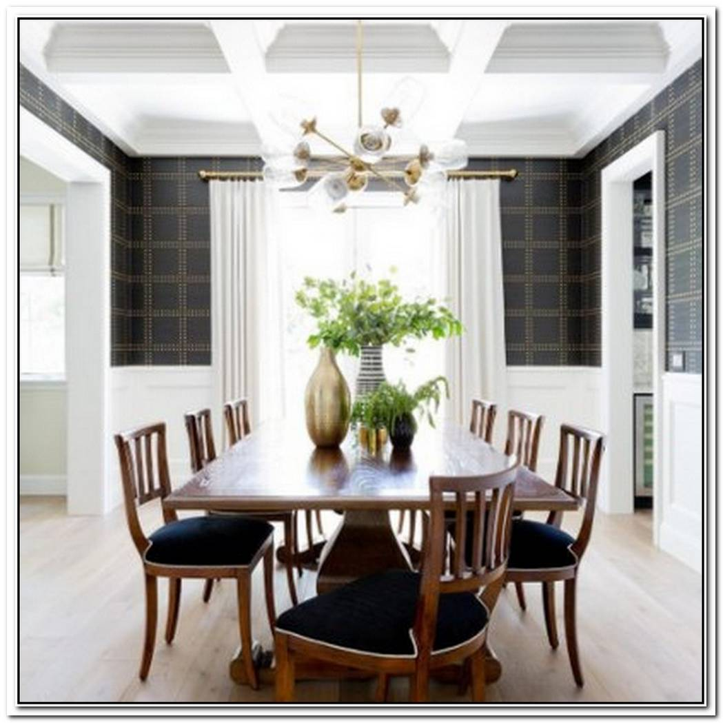 This Classic Meets Modern Dining Room Is The Best Of Both Worlds
