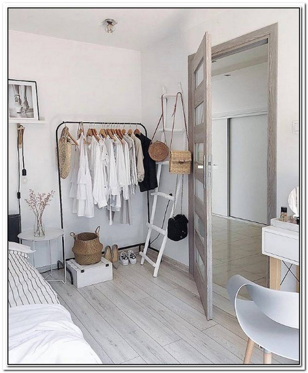 This Is How To Create A Chic Closet Without An Actual Closet
