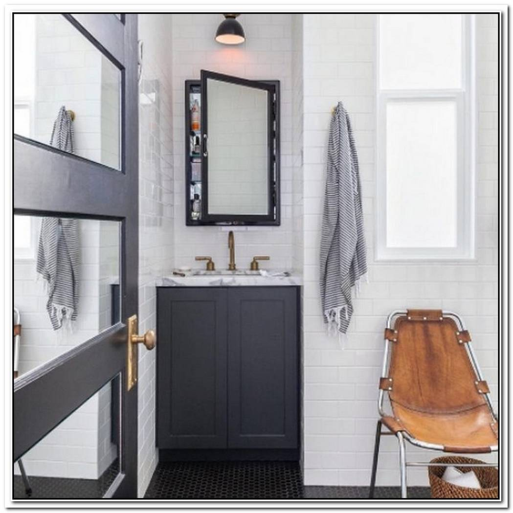 This Is How You Style A Masculine Bathroom For The Modern Man