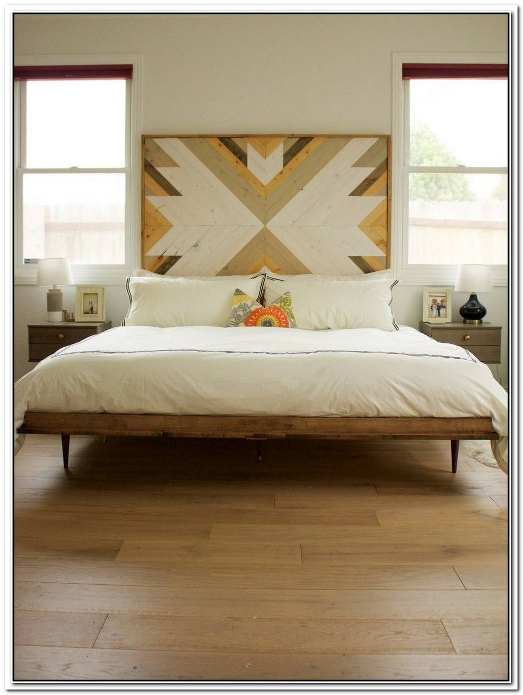 This Is The Perfect Headboard For A Midcentury Bedroom