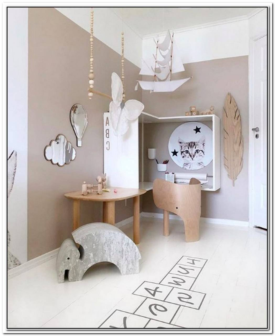 This Scandinavian Playroom Is Pure Magic