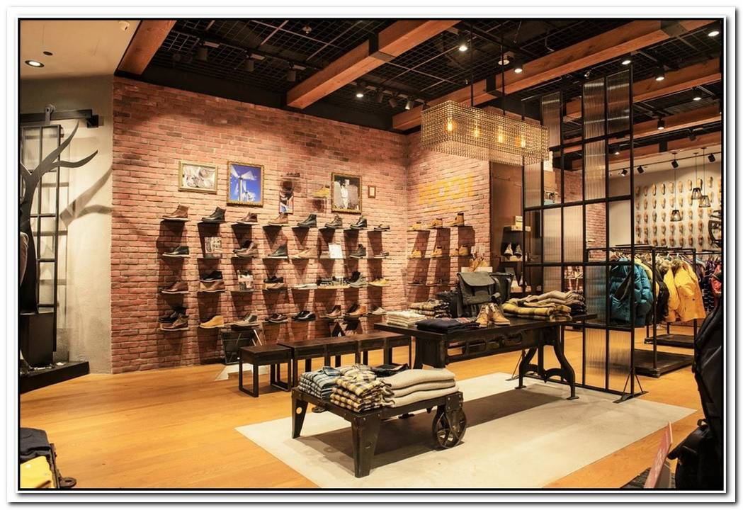 Timberland New Store Design In London