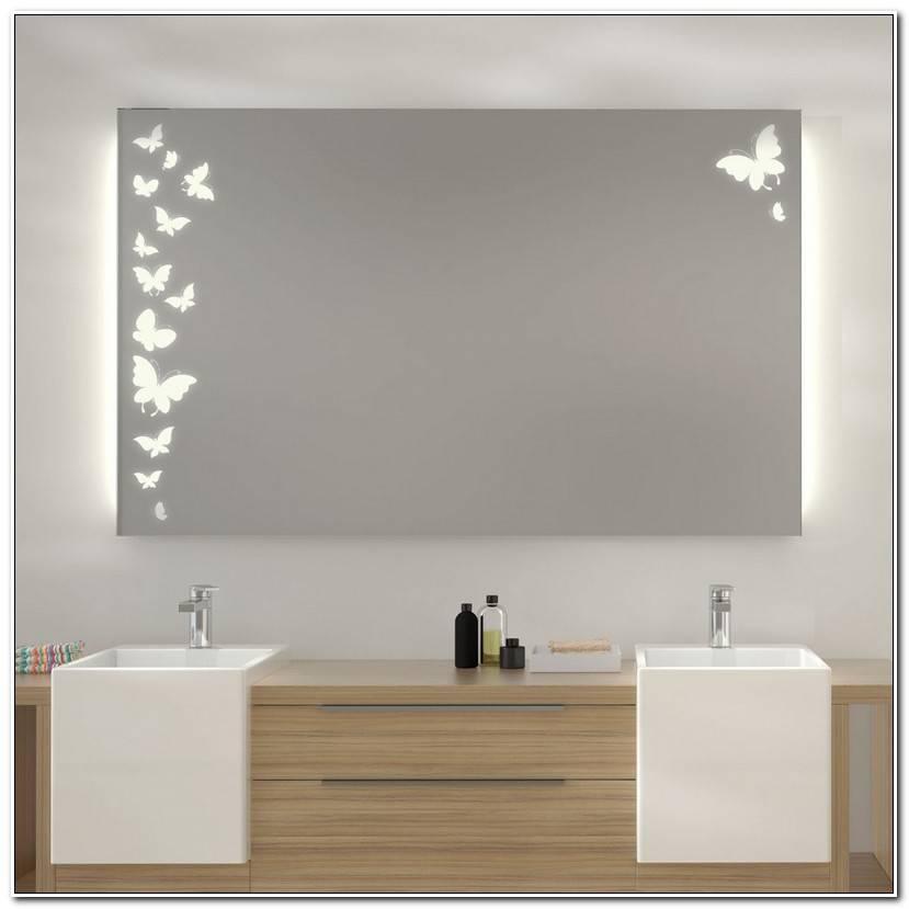 To Badspiegel Mit Led Beleuchtung