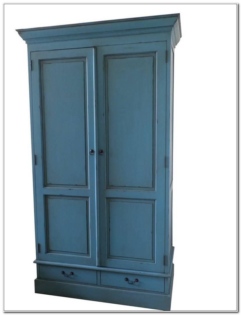 To Kleiderschrank Blau