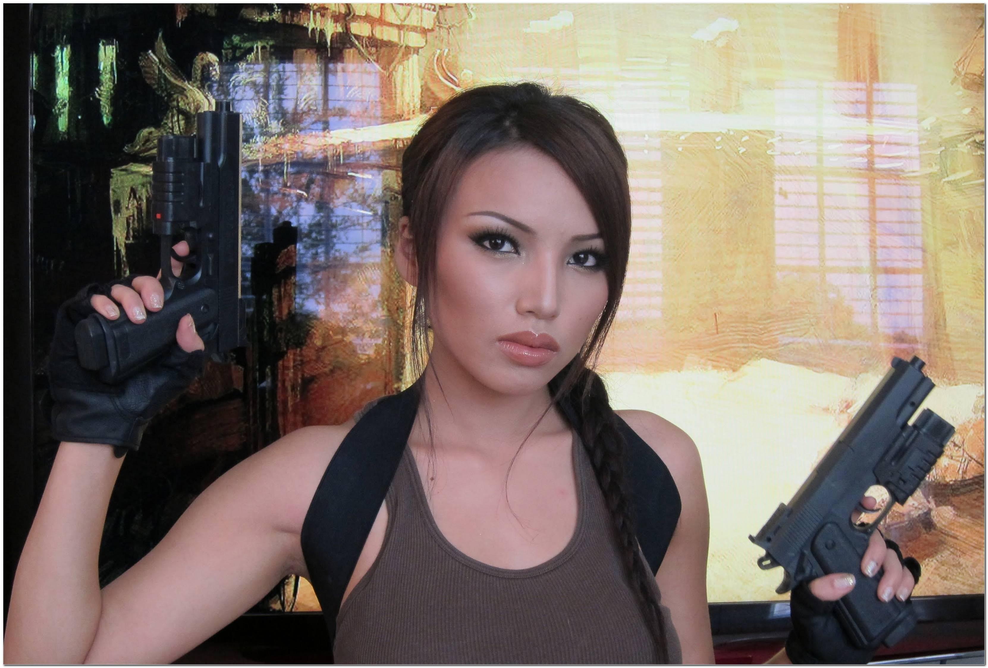 Tomb Raider Frisur