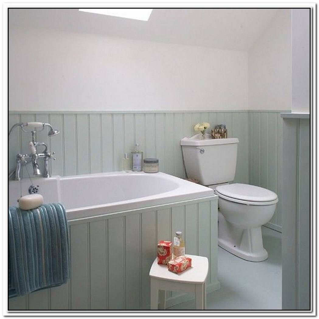 Tongue And Groove Traditional Bathroom Panelled