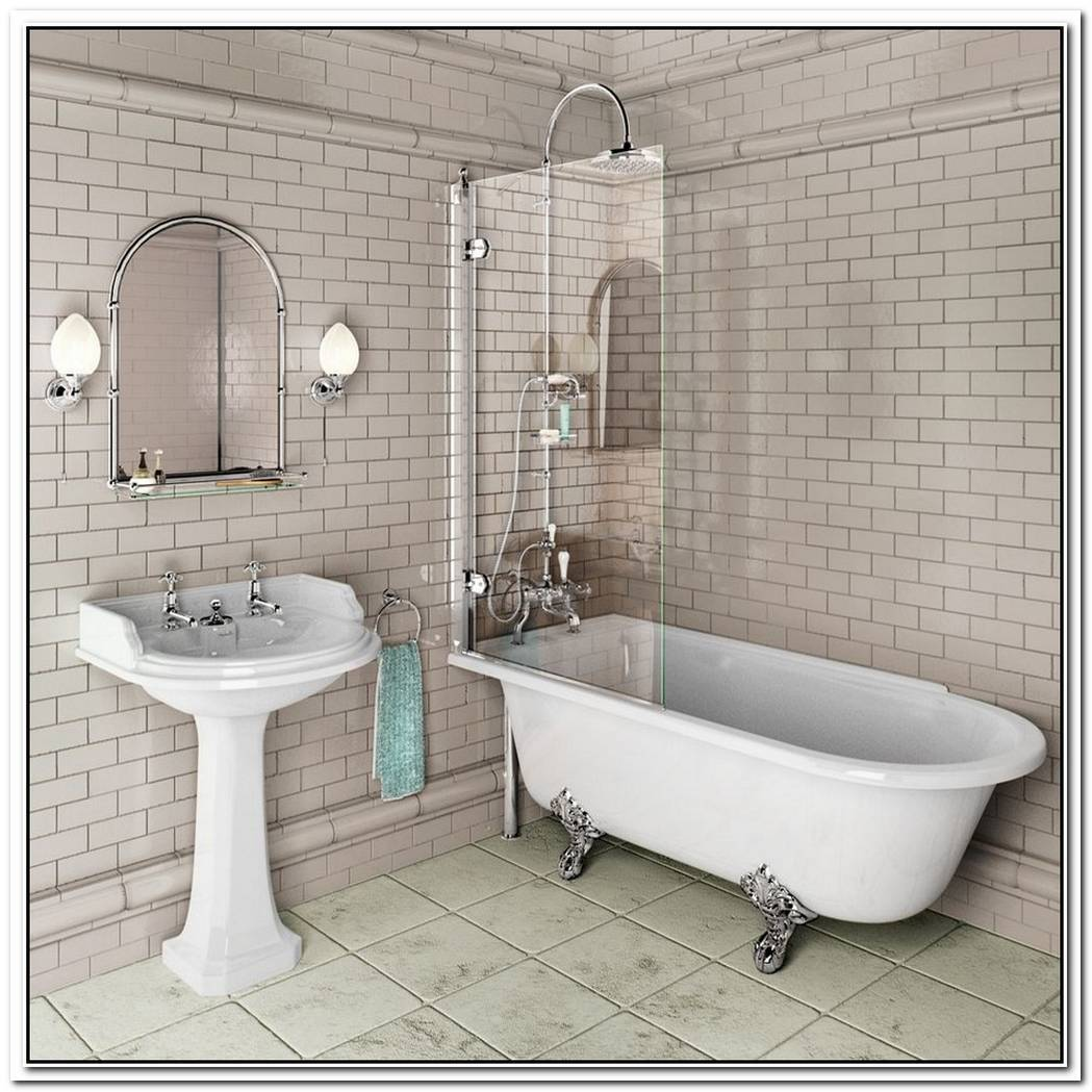 Traditional Bathroom Small Freestanding Bath