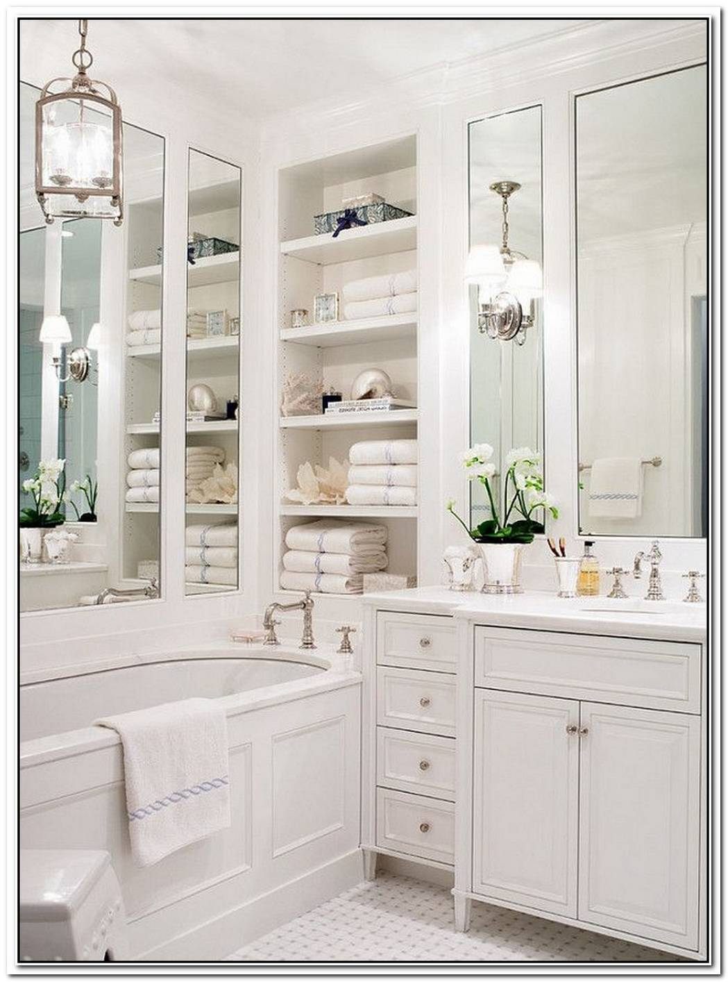 Traditional Bathroom Small Gorgeous