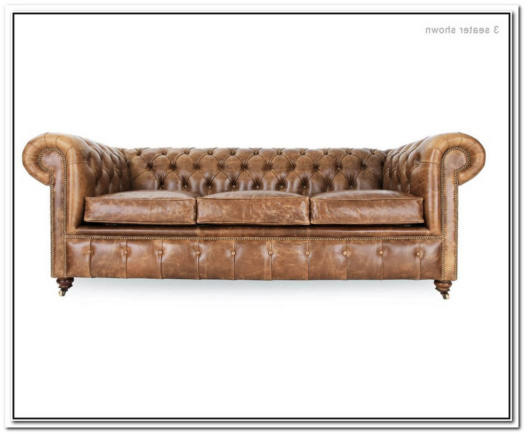 Traditional Chesterfield 2 Seat Sofa