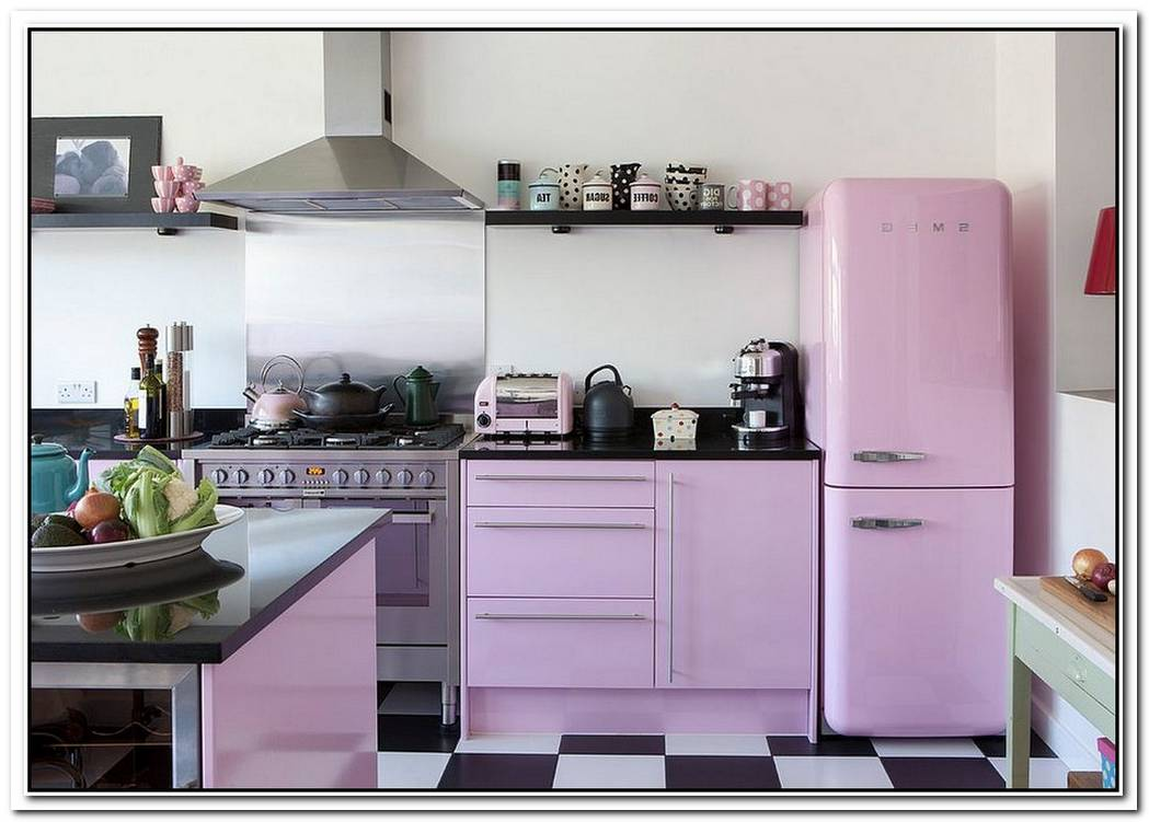 Trendy Color UpgradeStylish Kitchens In Shades Of Violet And Purple