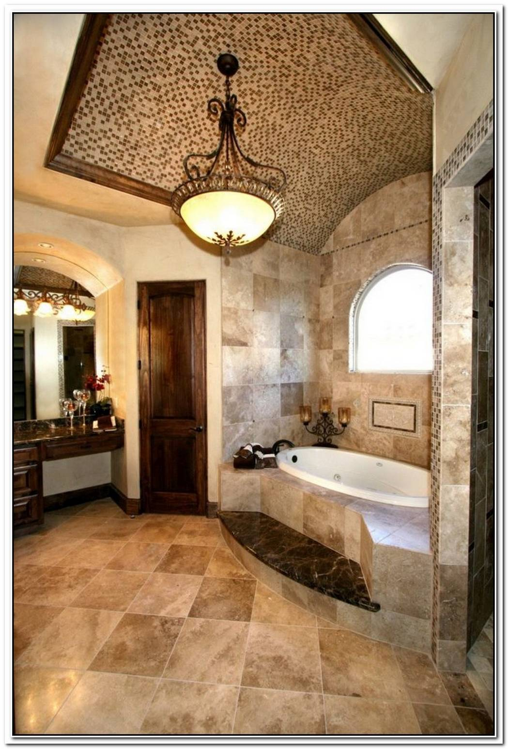 Tuscan Bathroom Extravagant