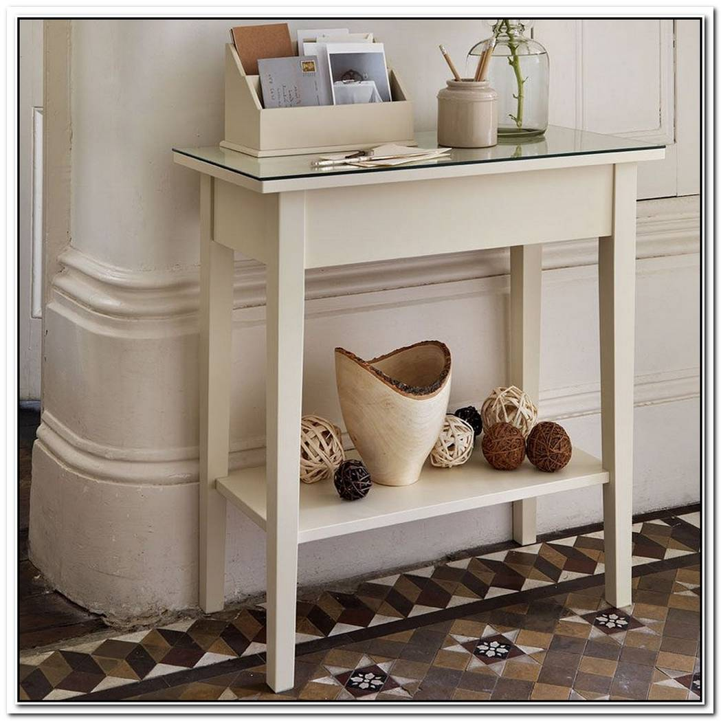 Tuvan Console Table With Drawers