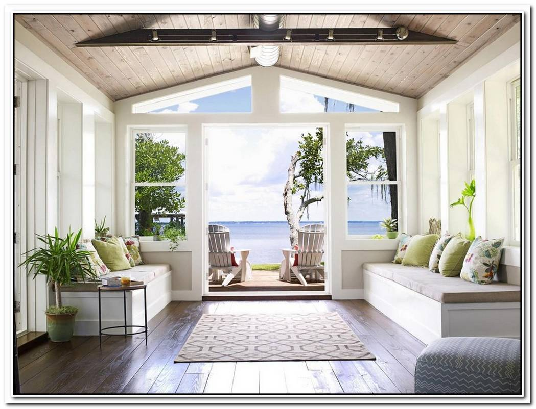 Two Incredible Beach Shacks Decorated Using White