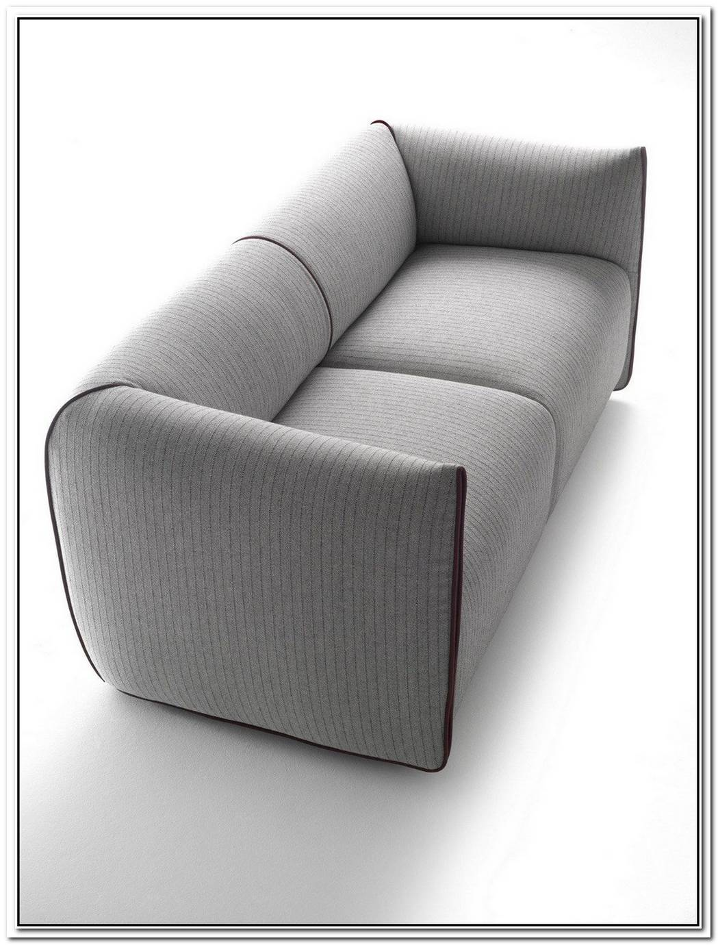 Two Seater Upholstered Sofa With Removable Cover