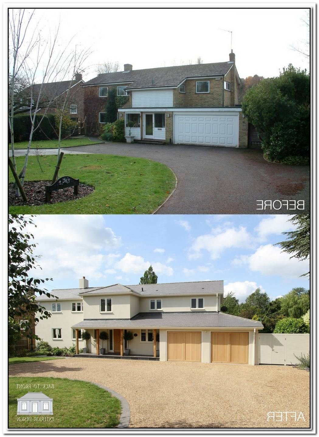 Unbelievable Transformation From A Traditional House To A Modern Residence