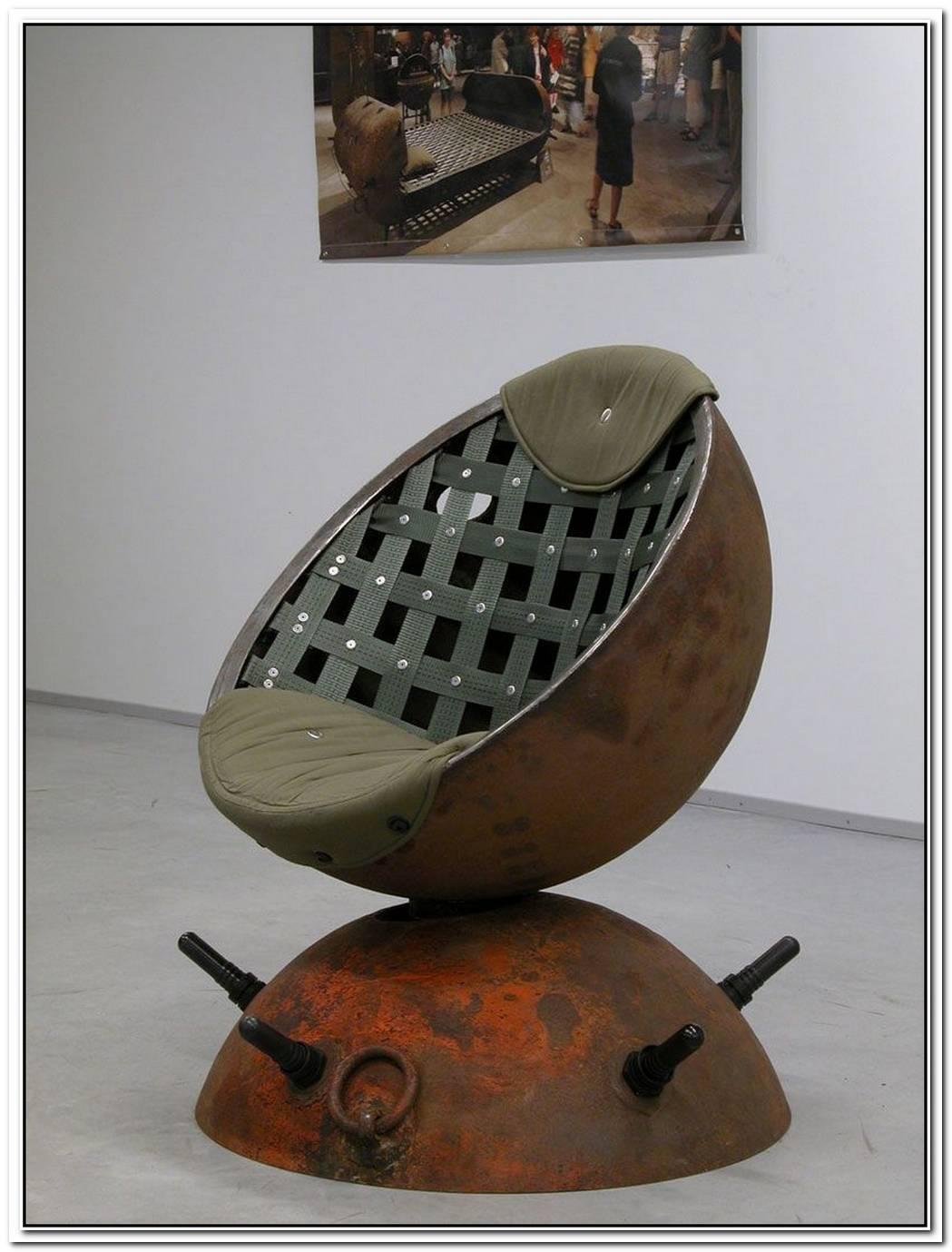Underwater Mines Furniture By Mati Karmin