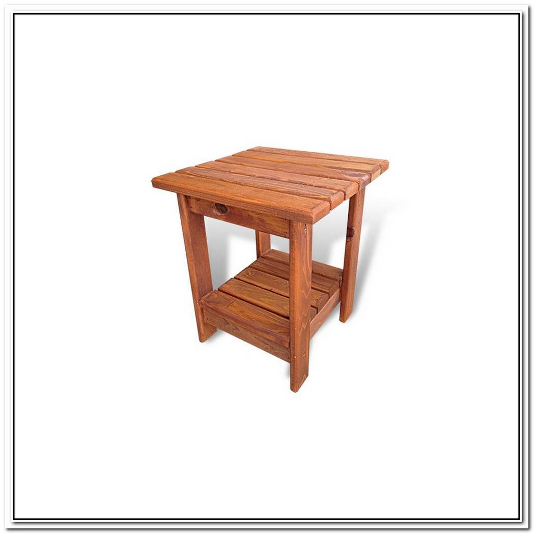 Unfinished Wooden Double Table