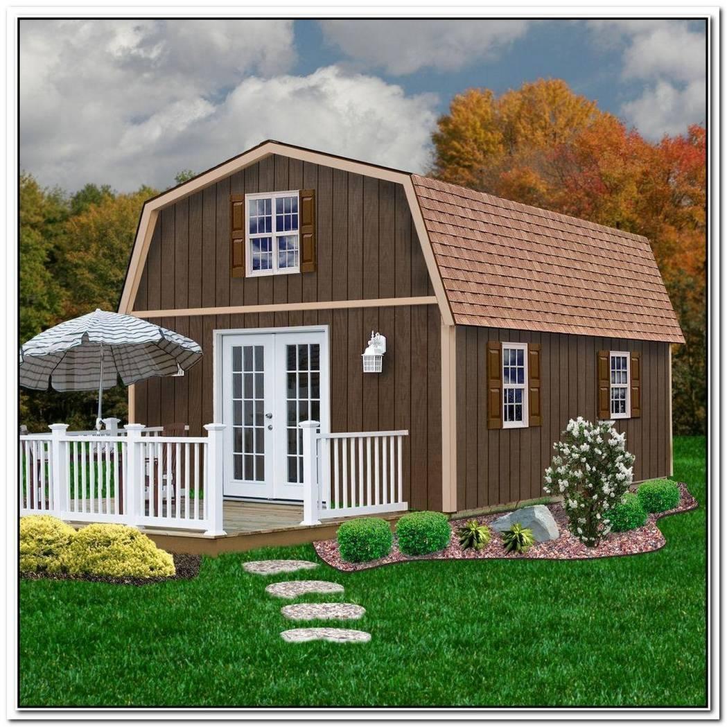 Unique Barn Style House