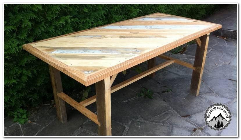 Unique Comment Fabriquer Une Table En Bois