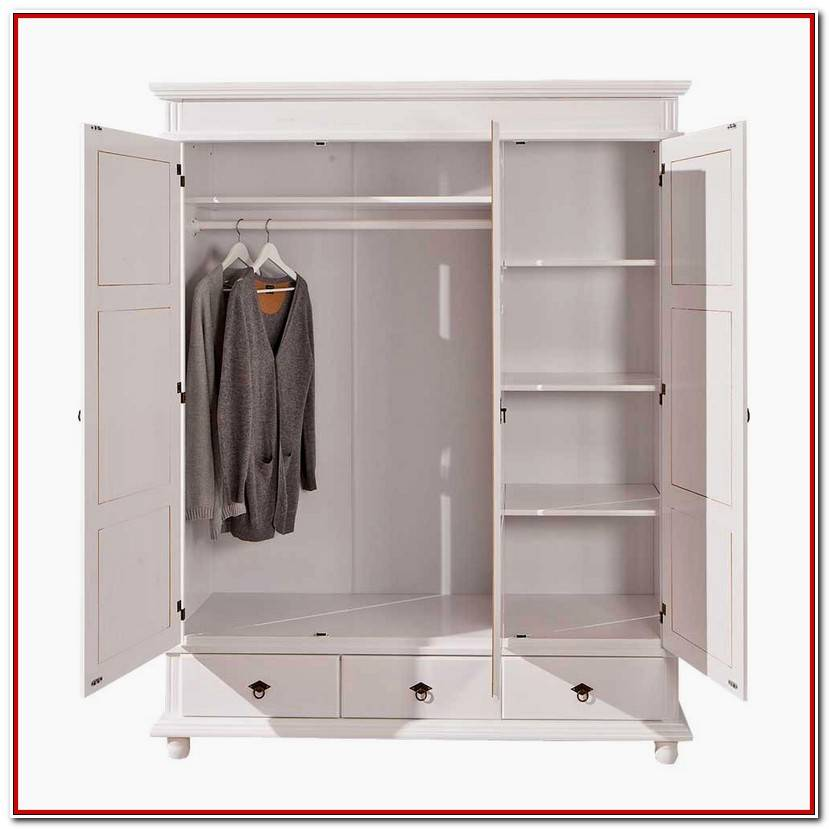 Unique Kleiderschrank Weiß Landhausstil