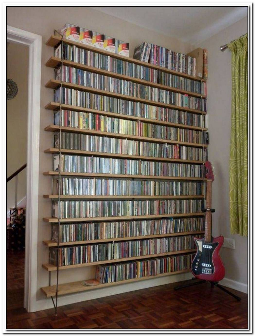 Unique Stylish Dvd Storage Ideas