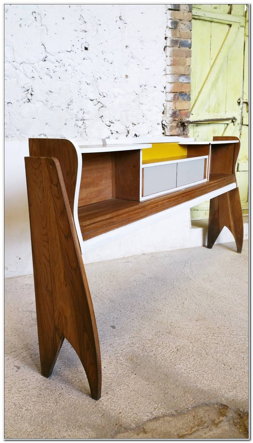 Unique Table Acier Bois