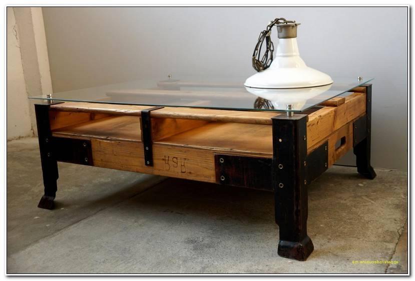 Unique Table Bois Et Fer