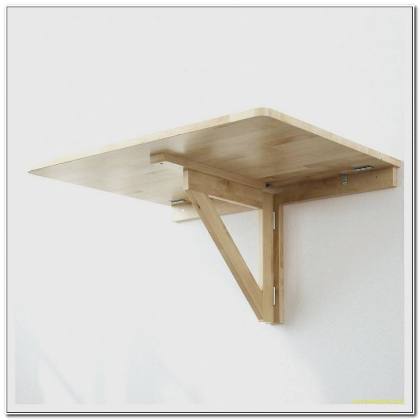 Unique Table En Bois Pliante