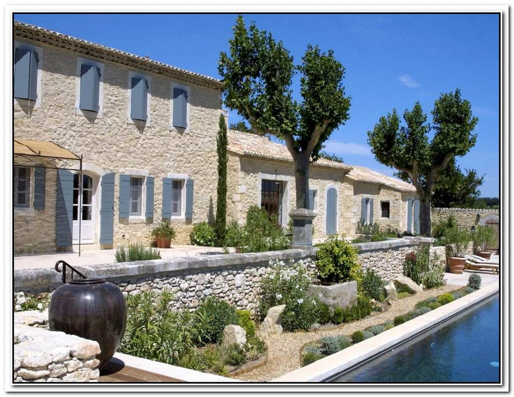 Upgraded Farmhouse In France By G%C3%A9rard Faivre