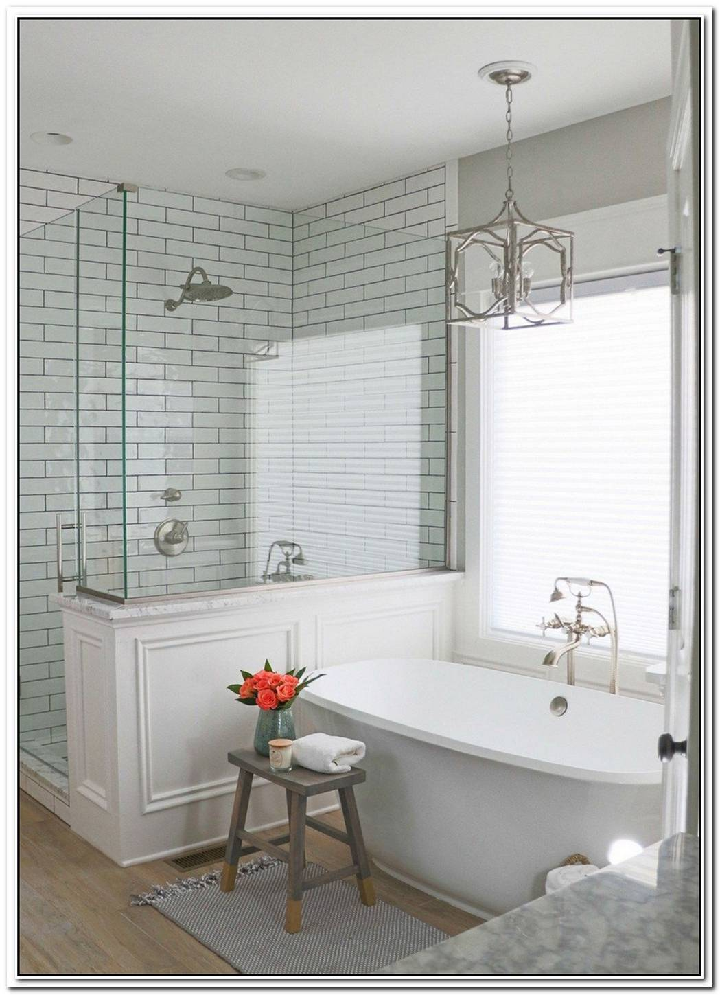 Urban Farmhouse Master Bathroom Farmhouse