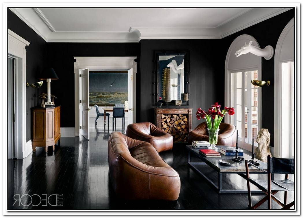 Using Black As The Main Color For Your Interior D%C3%A9cor