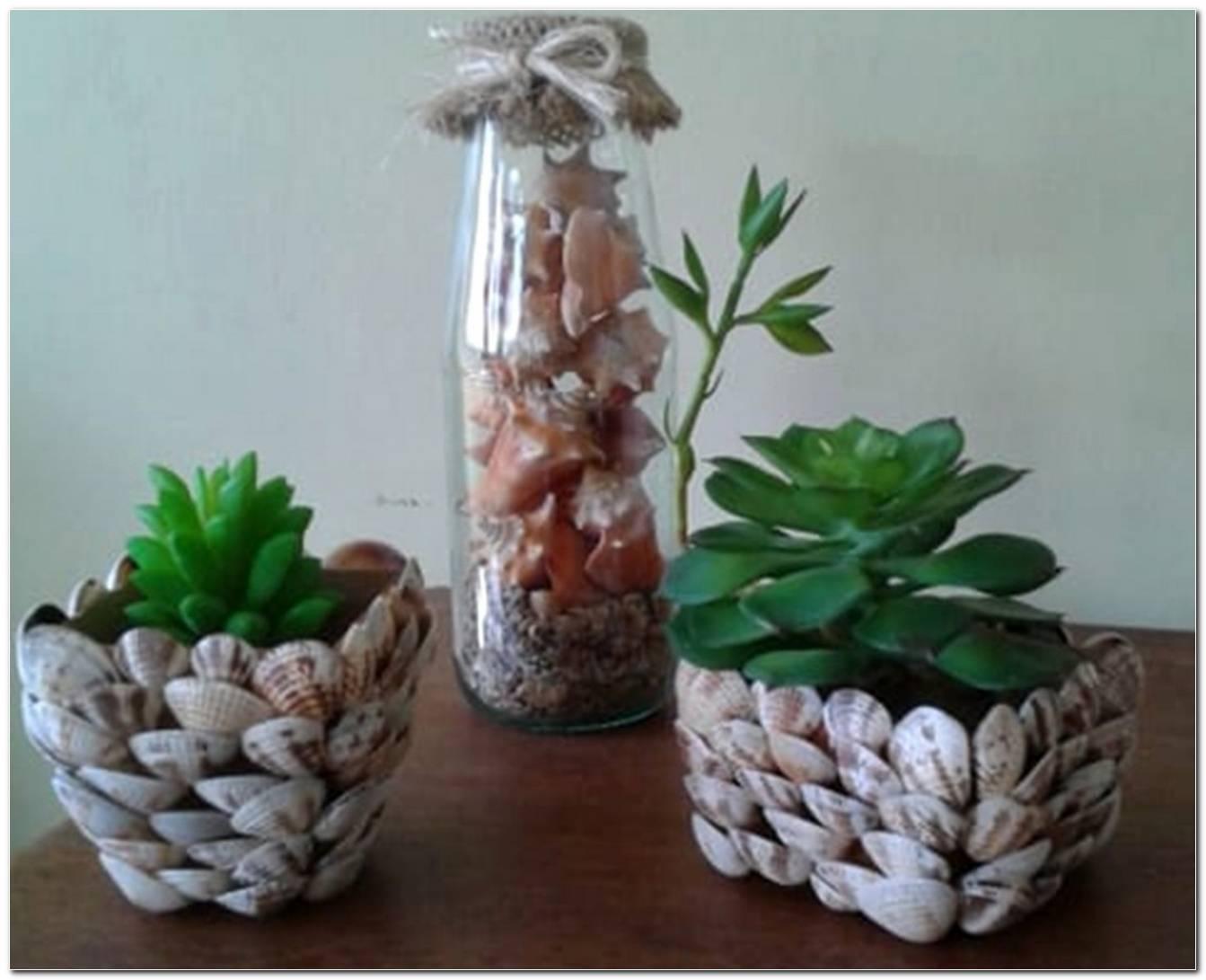 Vasinhos Com Plantas Artificiais