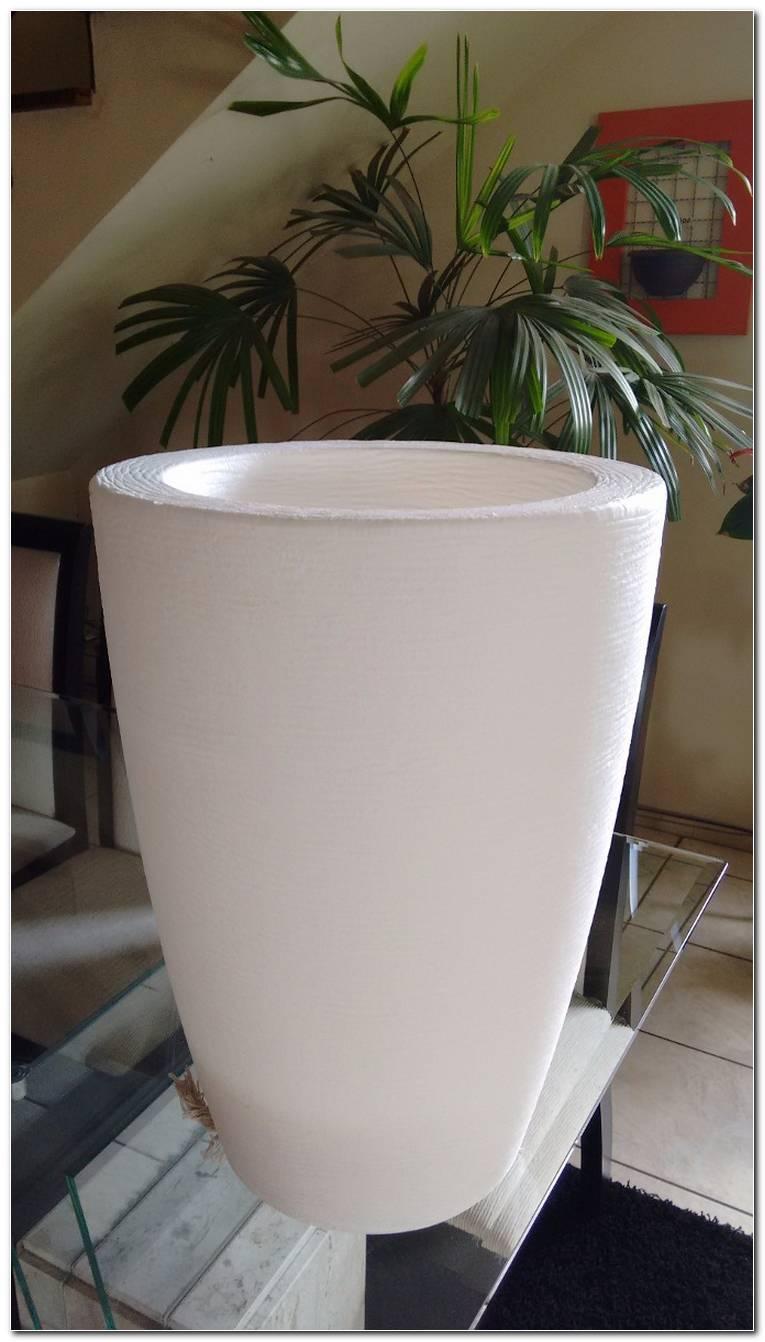 Vaso Branco Para Plantas