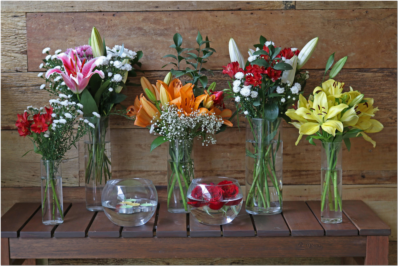 Vaso Para Flores