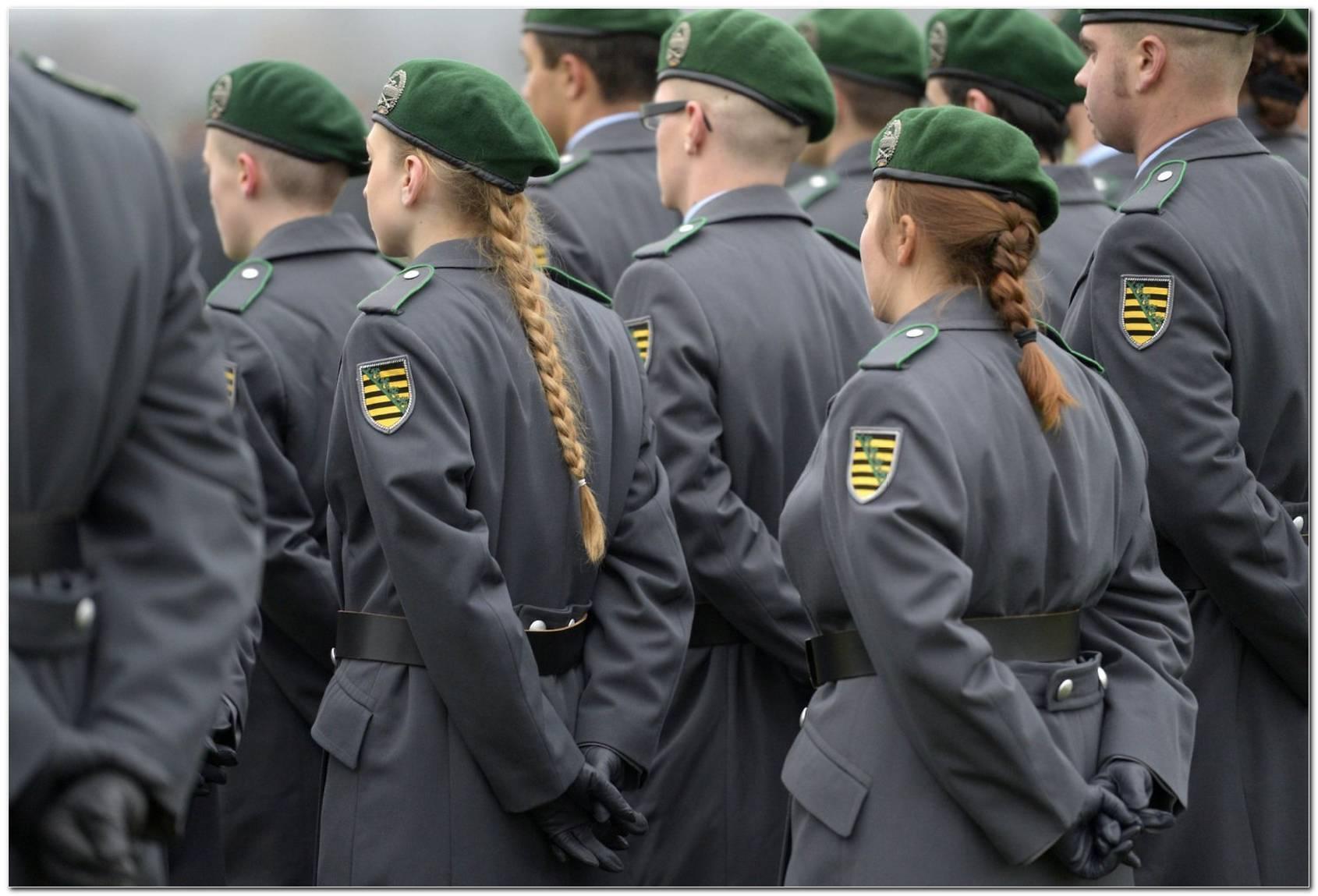 Verbotene Frisuren Bundeswehr