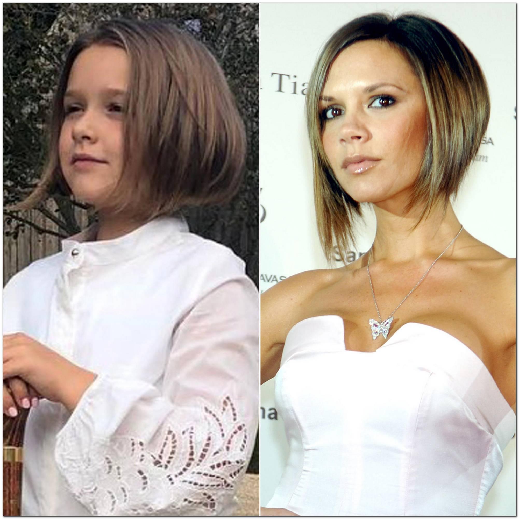 Victoria Beckham Aktuelle Frisur