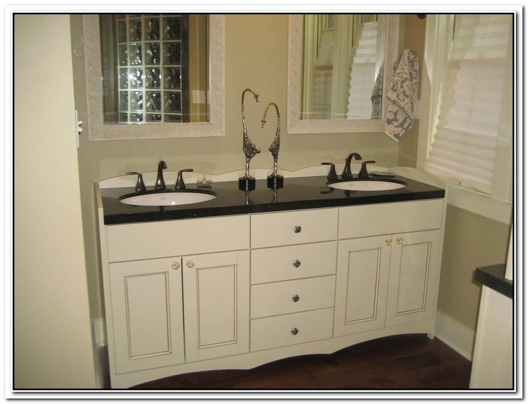 Vintage Bathroom Painting Vanity