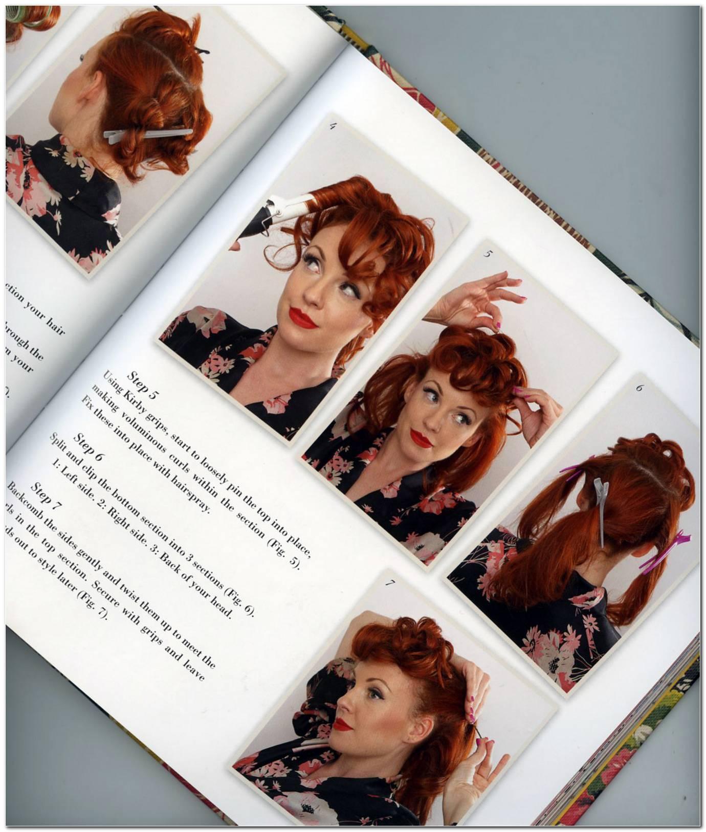 Vintage Frisuren Buch