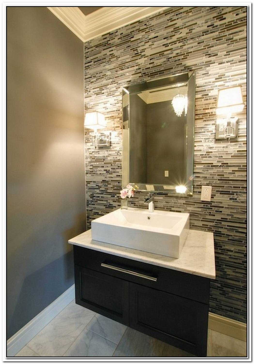 Wall Tile Bathroom Modern