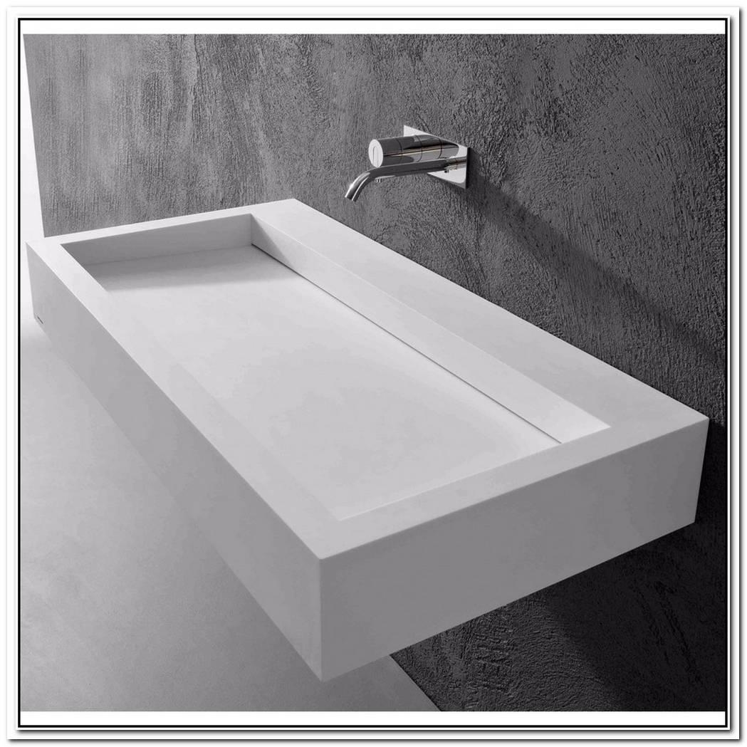 Wash Basin In Black Corian