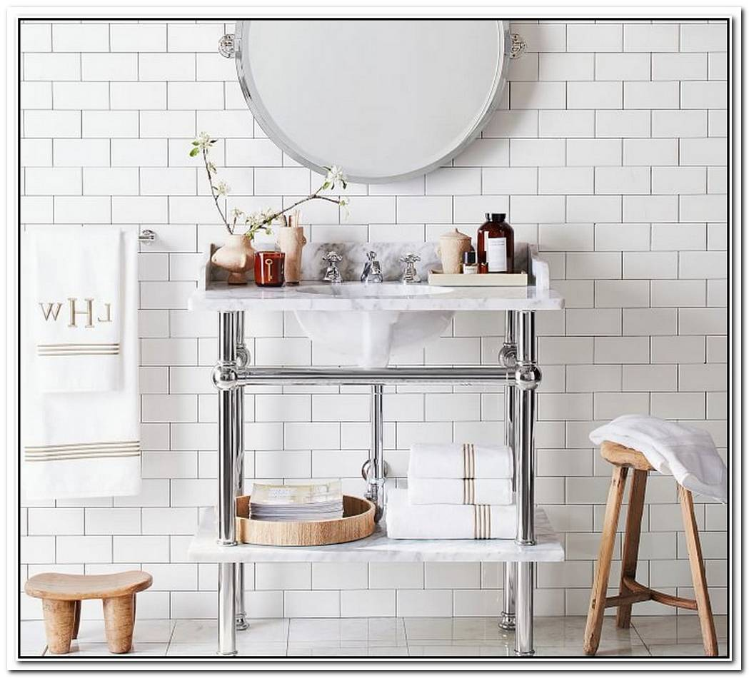 Wash The Day Away With These 15 Console Bathroom Sinks