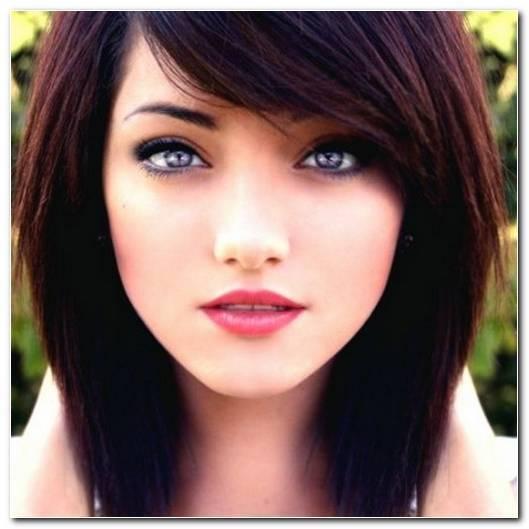 Welche Frisur F%C3%BCR Rundes Gesicht